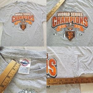 2010 Men's San Francisco Giants World Series shirt
